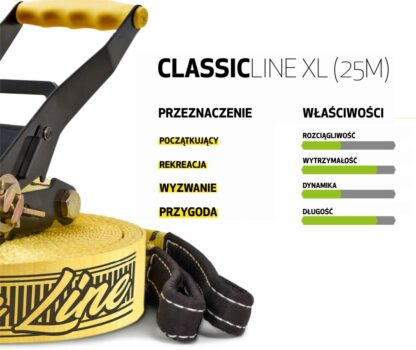 Gibbon Classic Line XL właściwości