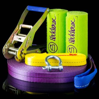 MonsterSet Plus 25m slackline kit
