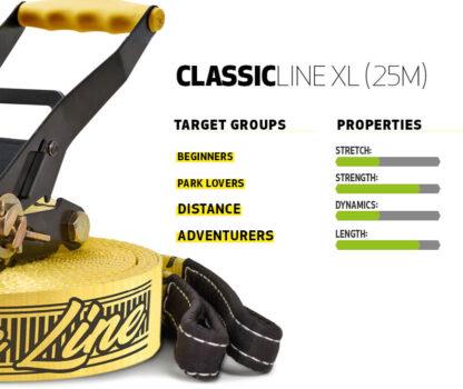 Gibbon Classic Line XL properties