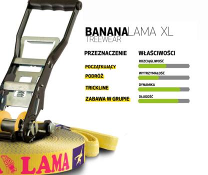Gibbon BananaLama XL właściwości zestawu